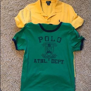 Pair of polo by Ralph Lauren shirts